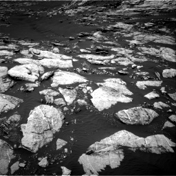 Nasa's Mars rover Curiosity acquired this image using its Right Navigation Camera on Sol 1610, at drive 450, site number 61