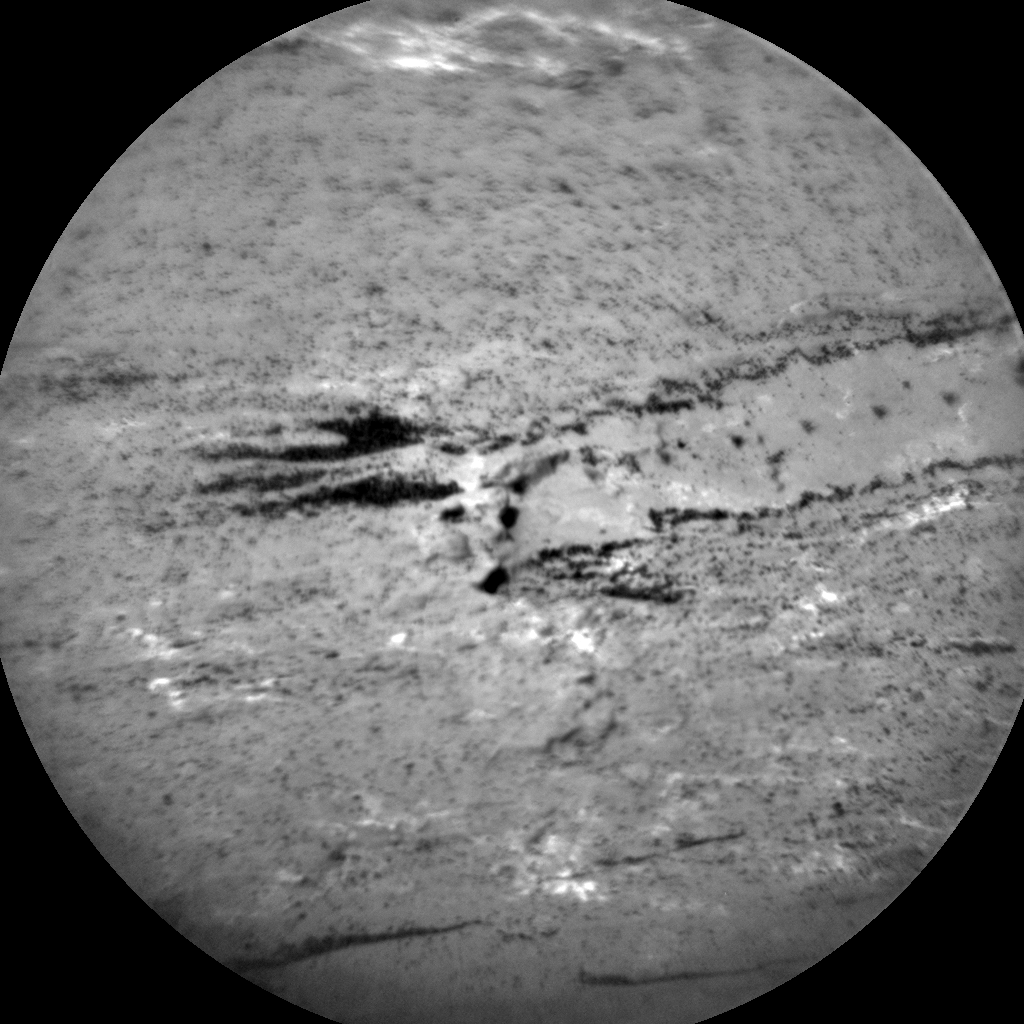 Nasa's Mars rover Curiosity acquired this image using its Chemistry & Camera (ChemCam) on Sol 1610, at drive 252, site number 61