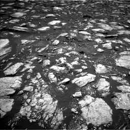 Nasa's Mars rover Curiosity acquired this image using its Left Navigation Camera on Sol 1611, at drive 492, site number 61