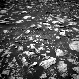 Nasa's Mars rover Curiosity acquired this image using its Left Navigation Camera on Sol 1611, at drive 498, site number 61