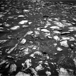 Nasa's Mars rover Curiosity acquired this image using its Left Navigation Camera on Sol 1611, at drive 504, site number 61