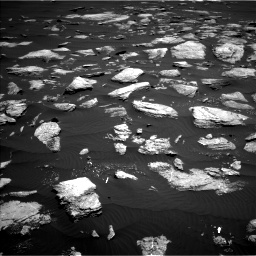 Nasa's Mars rover Curiosity acquired this image using its Left Navigation Camera on Sol 1611, at drive 624, site number 61