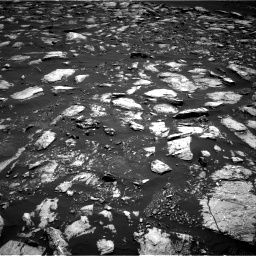 Nasa's Mars rover Curiosity acquired this image using its Right Navigation Camera on Sol 1611, at drive 504, site number 61