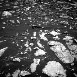 Nasa's Mars rover Curiosity acquired this image using its Right Navigation Camera on Sol 1611, at drive 528, site number 61