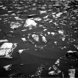 Nasa's Mars rover Curiosity acquired this image using its Right Navigation Camera on Sol 1611, at drive 552, site number 61