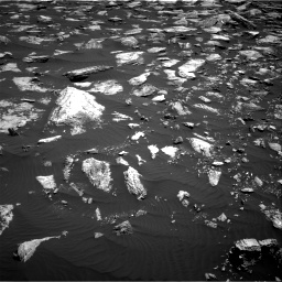 Nasa's Mars rover Curiosity acquired this image using its Right Navigation Camera on Sol 1611, at drive 558, site number 61