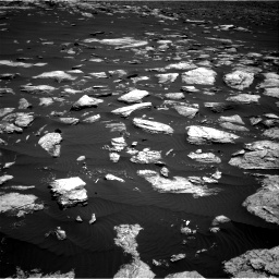Nasa's Mars rover Curiosity acquired this image using its Right Navigation Camera on Sol 1611, at drive 618, site number 61