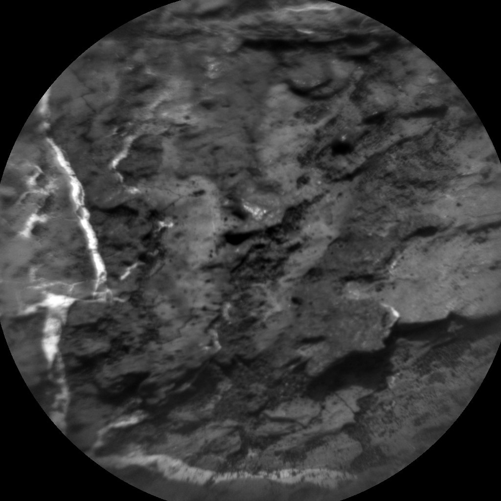 Nasa's Mars rover Curiosity acquired this image using its Chemistry & Camera (ChemCam) on Sol 1611, at drive 456, site number 61