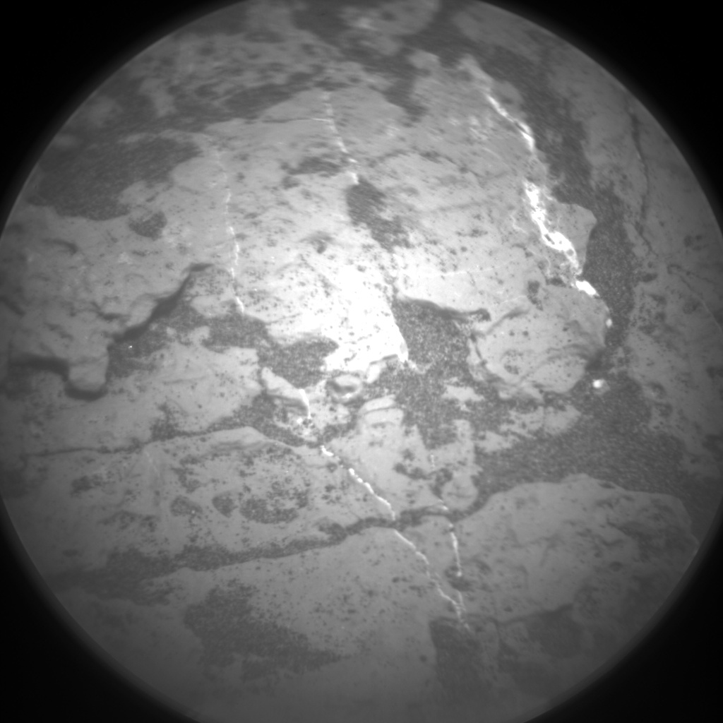 Nasa's Mars rover Curiosity acquired this image using its Chemistry & Camera (ChemCam) on Sol 1612, at drive 924, site number 61