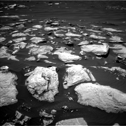 Nasa's Mars rover Curiosity acquired this image using its Left Navigation Camera on Sol 1612, at drive 678, site number 61