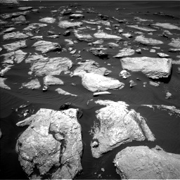 Nasa's Mars rover Curiosity acquired this image using its Left Navigation Camera on Sol 1612, at drive 684, site number 61