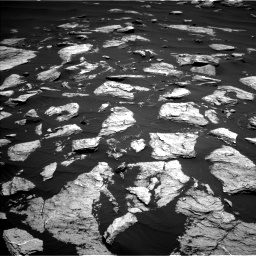 Nasa's Mars rover Curiosity acquired this image using its Left Navigation Camera on Sol 1612, at drive 720, site number 61