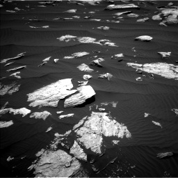 Nasa's Mars rover Curiosity acquired this image using its Left Navigation Camera on Sol 1612, at drive 762, site number 61