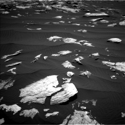 Nasa's Mars rover Curiosity acquired this image using its Left Navigation Camera on Sol 1612, at drive 774, site number 61