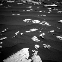 Nasa's Mars rover Curiosity acquired this image using its Left Navigation Camera on Sol 1612, at drive 780, site number 61
