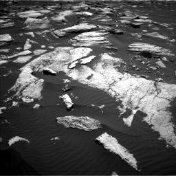 Nasa's Mars rover Curiosity acquired this image using its Left Navigation Camera on Sol 1612, at drive 846, site number 61