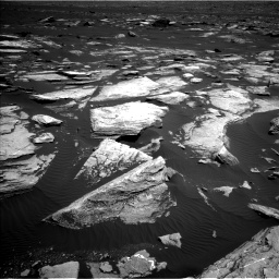 Nasa's Mars rover Curiosity acquired this image using its Left Navigation Camera on Sol 1612, at drive 900, site number 61