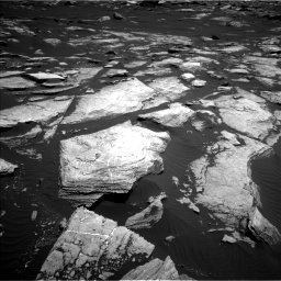 Nasa's Mars rover Curiosity acquired this image using its Left Navigation Camera on Sol 1612, at drive 912, site number 61