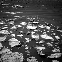 Nasa's Mars rover Curiosity acquired this image using its Right Navigation Camera on Sol 1612, at drive 708, site number 61