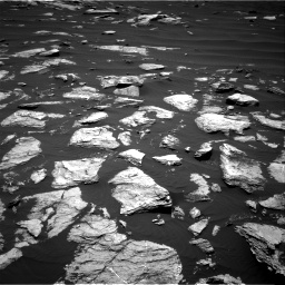 Nasa's Mars rover Curiosity acquired this image using its Right Navigation Camera on Sol 1612, at drive 714, site number 61