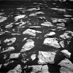 Nasa's Mars rover Curiosity acquired this image using its Right Navigation Camera on Sol 1612, at drive 726, site number 61