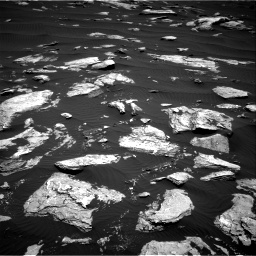 Nasa's Mars rover Curiosity acquired this image using its Right Navigation Camera on Sol 1612, at drive 738, site number 61