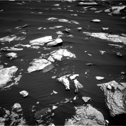 Nasa's Mars rover Curiosity acquired this image using its Right Navigation Camera on Sol 1612, at drive 750, site number 61