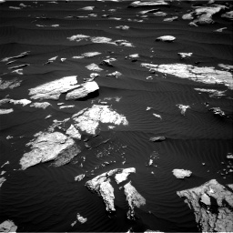 Nasa's Mars rover Curiosity acquired this image using its Right Navigation Camera on Sol 1612, at drive 756, site number 61