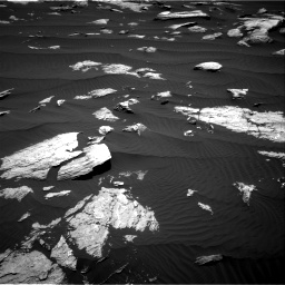Nasa's Mars rover Curiosity acquired this image using its Right Navigation Camera on Sol 1612, at drive 768, site number 61
