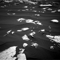 Nasa's Mars rover Curiosity acquired this image using its Right Navigation Camera on Sol 1612, at drive 780, site number 61