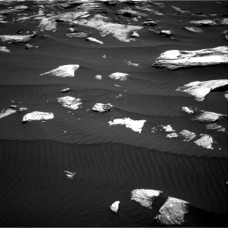 Nasa's Mars rover Curiosity acquired this image using its Right Navigation Camera on Sol 1612, at drive 810, site number 61