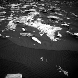 Nasa's Mars rover Curiosity acquired this image using its Right Navigation Camera on Sol 1612, at drive 834, site number 61
