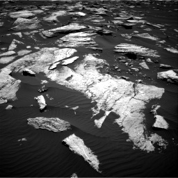 Nasa's Mars rover Curiosity acquired this image using its Right Navigation Camera on Sol 1612, at drive 846, site number 61