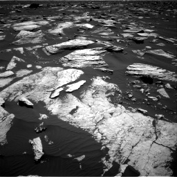 Nasa's Mars rover Curiosity acquired this image using its Right Navigation Camera on Sol 1612, at drive 852, site number 61