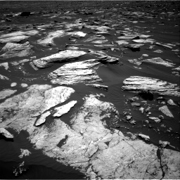 Nasa's Mars rover Curiosity acquired this image using its Right Navigation Camera on Sol 1612, at drive 858, site number 61