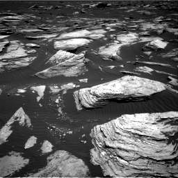 Nasa's Mars rover Curiosity acquired this image using its Right Navigation Camera on Sol 1612, at drive 888, site number 61