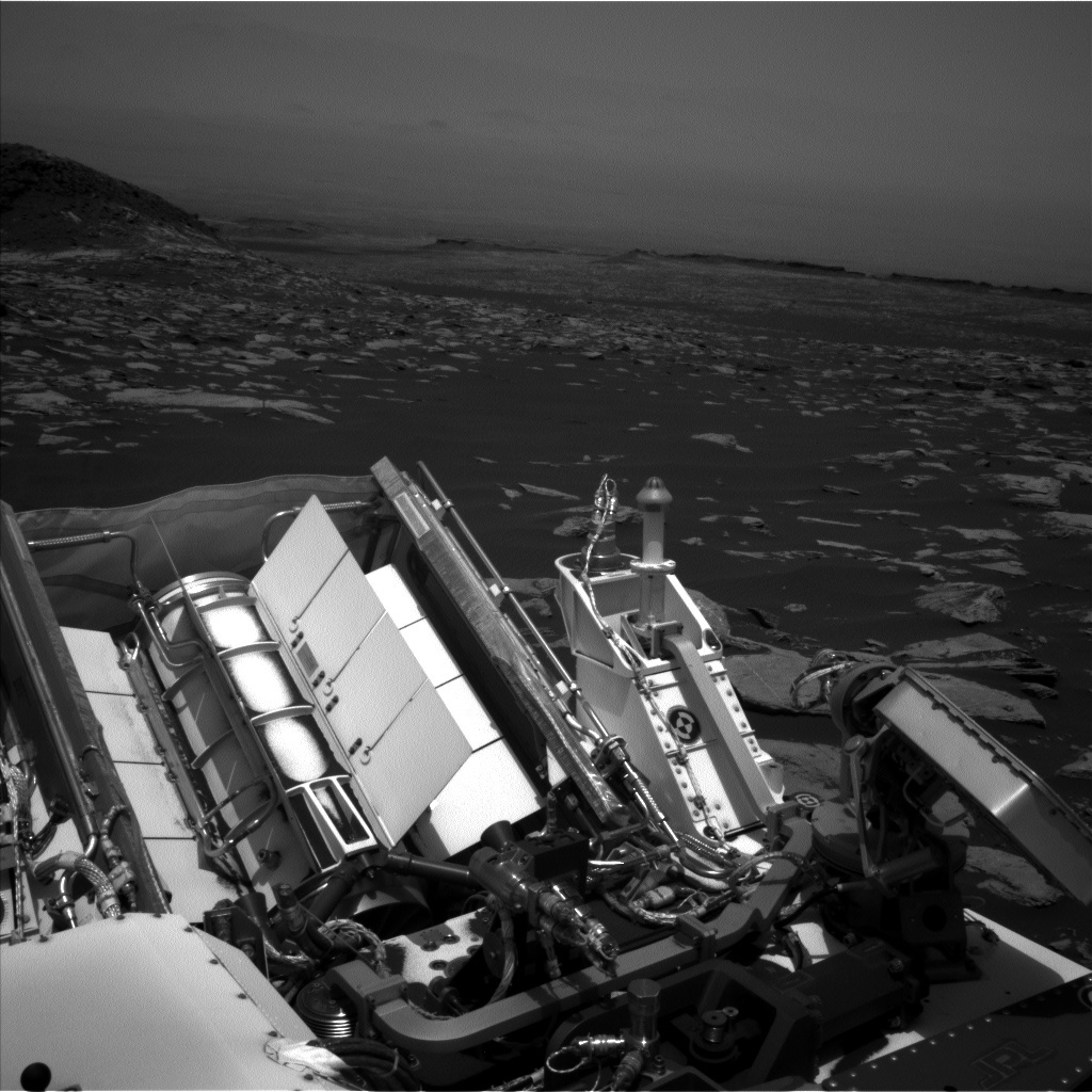 NASA's Mars rover Curiosity acquired this image using its Left Navigation Camera (Navcams) on Sol 1616