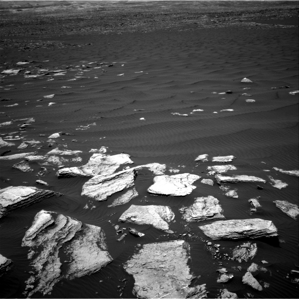 NASA's Mars rover Curiosity acquired this image using its Right Navigation Cameras (Navcams) on Sol 1616