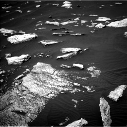 Nasa's Mars rover Curiosity acquired this image using its Left Navigation Camera on Sol 1617, at drive 978, site number 61