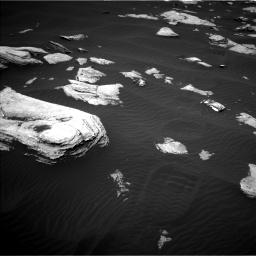 Nasa's Mars rover Curiosity acquired this image using its Left Navigation Camera on Sol 1617, at drive 1014, site number 61