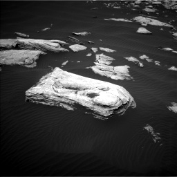 Nasa's Mars rover Curiosity acquired this image using its Left Navigation Camera on Sol 1617, at drive 1020, site number 61
