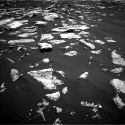 Nasa's Mars rover Curiosity acquired this image using its Left Navigation Camera on Sol 1617, at drive 1056, site number 61
