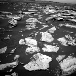 Nasa's Mars rover Curiosity acquired this image using its Left Navigation Camera on Sol 1617, at drive 1140, site number 61