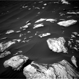 Nasa's Mars rover Curiosity acquired this image using its Right Navigation Camera on Sol 1617, at drive 954, site number 61