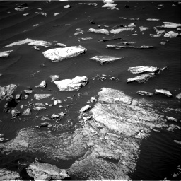 Nasa's Mars rover Curiosity acquired this image using its Right Navigation Camera on Sol 1617, at drive 966, site number 61