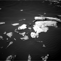 Nasa's Mars rover Curiosity acquired this image using its Right Navigation Camera on Sol 1617, at drive 1044, site number 61