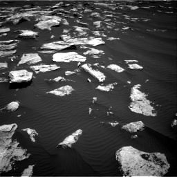 Nasa's Mars rover Curiosity acquired this image using its Right Navigation Camera on Sol 1617, at drive 1062, site number 61