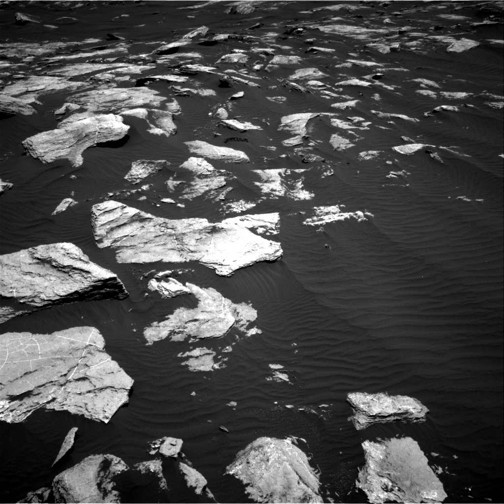 Nasa's Mars rover Curiosity acquired this image using its Right Navigation Camera on Sol 1617, at drive 1086, site number 61
