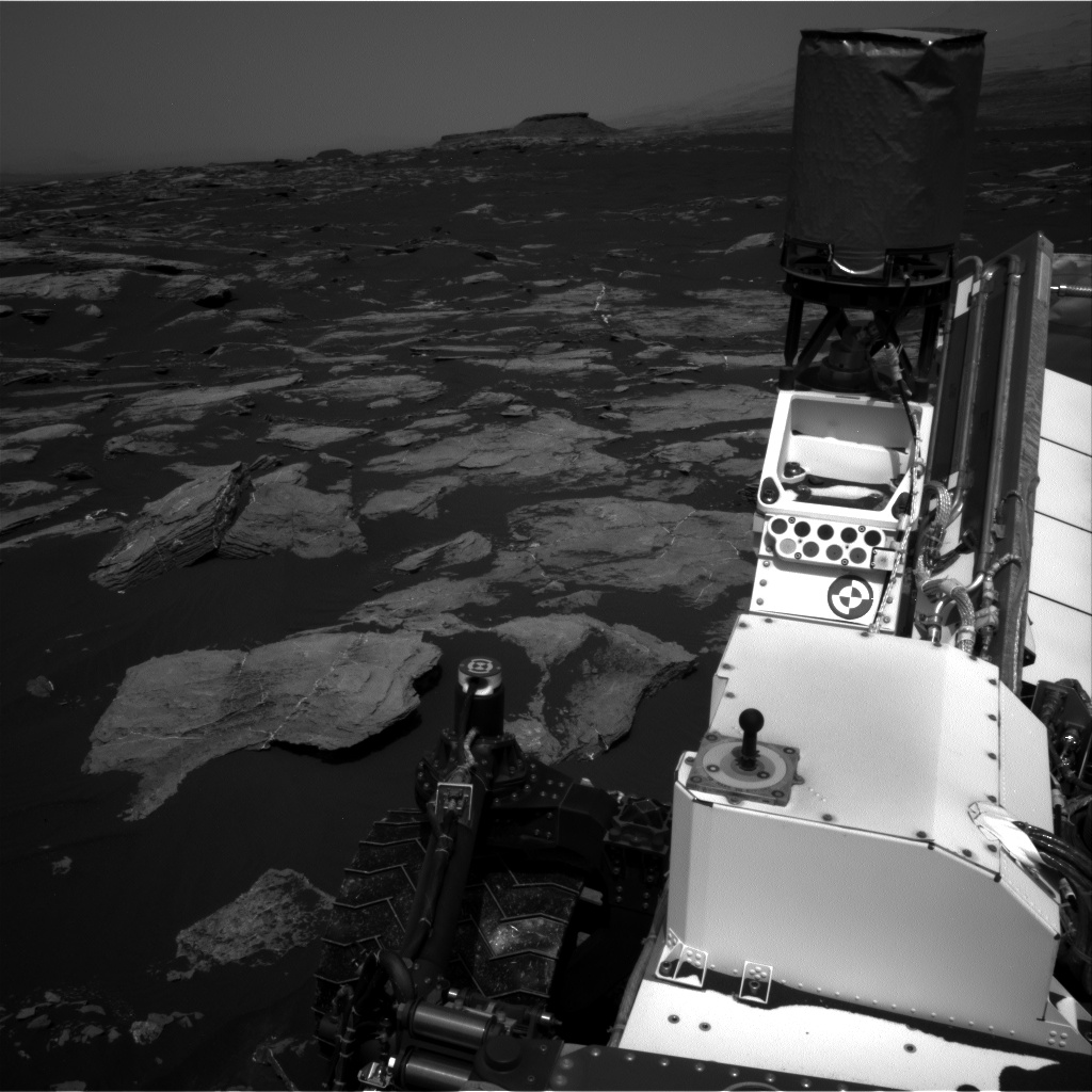Nasa's Mars rover Curiosity acquired this image using its Right Navigation Camera on Sol 1617, at drive 1140, site number 61