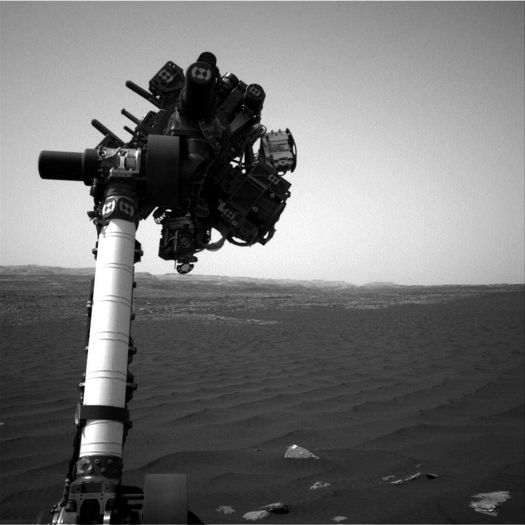 Nasa's Mars rover Curiosity acquired this image using its Right Navigation Camera on Sol 1620, at drive 1140, site number 61